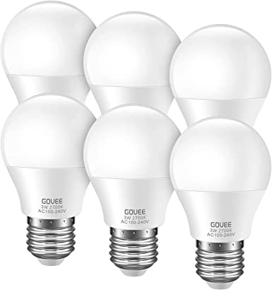 Solar System and Low-Voltage Equipment 5-Pack Energy Class A 3W 12V Welsun E14 LED Lamp Bulb Low Voltage T22 Candelabra LED Bulbs 240-260lm Warm White for Battery-Powered