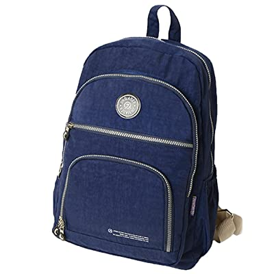Zouvo Unisex High Capacity Waterproof Adjustable Straps School Bag Casual Backpack