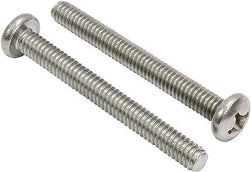 100 Count U-Turn #10-24 x 1//2 Phillips Truss Head Machine Screw 18-8 Stainless Steel
