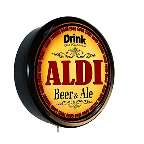 Amazon com: ALDI Beer and Ale Cerveza Lighted Wall Sign