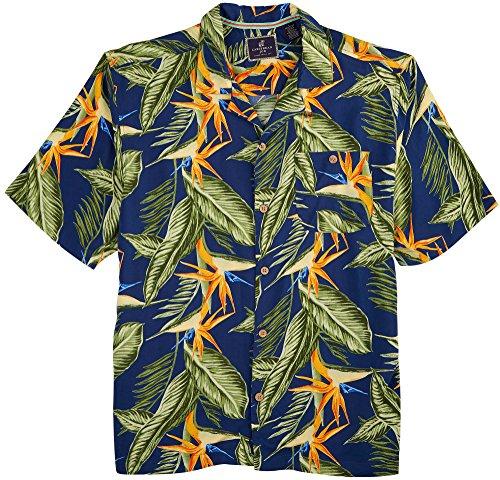caribbean-joe-mens-birds-paradise-shirt-medium-military-blue-green