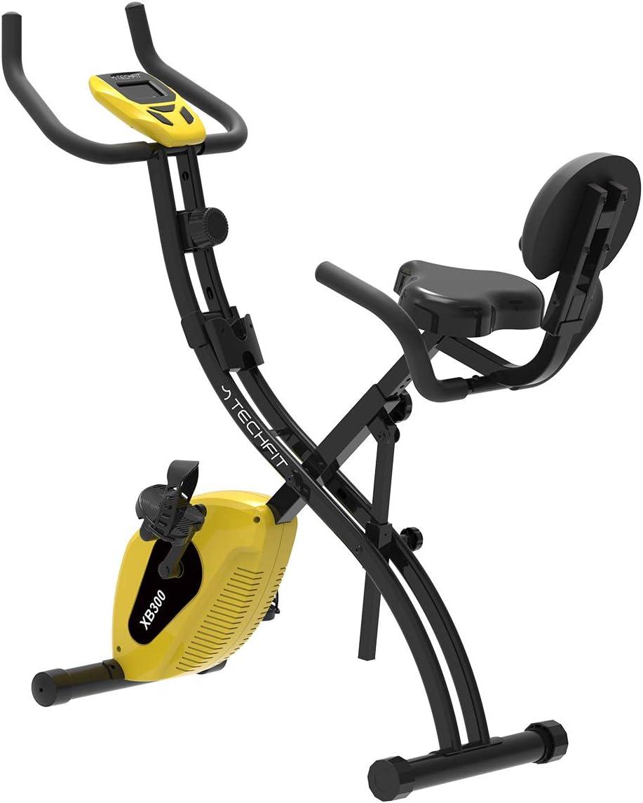 TechFit XB300 Bicicleta de Ejercicios Plegable Magnética, Unisex ...