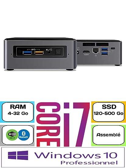 Intel Nuc - NUC7I7BNH - Core i7 3,5 GHz - 240 GB SSD SATA WD Green ...