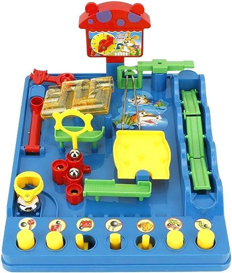 Juguete de laberinto parque acuático Playset rompecabezas laberinto juguetes mesa juego de mesa adultos juguetes para niños: Amazon.es: Bebé