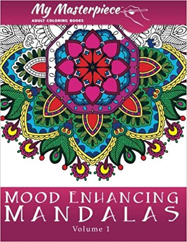 Amazoncom My Masterpiece Adult Coloring Books Mood Enhancing