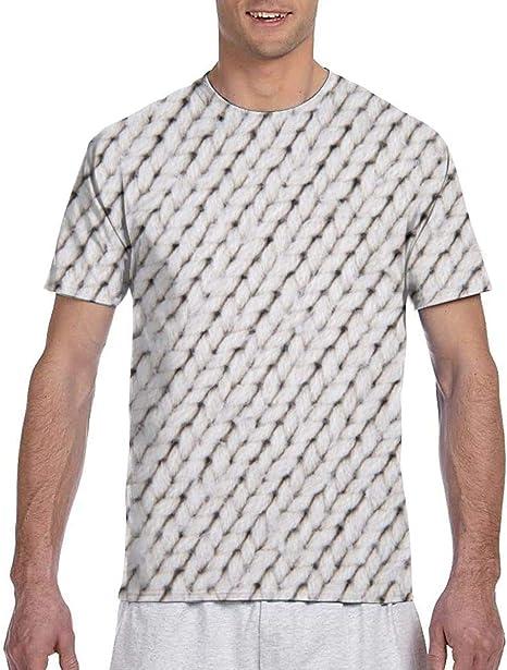 Mark Stars 3D Knitting Men Short Sleeve tee Sports T Shirt Tees ...