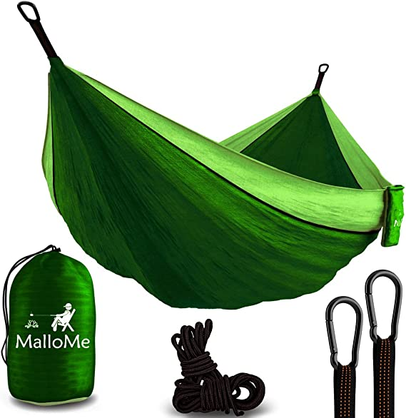 MalloMe Hammock Camping - Lightweight and Strong