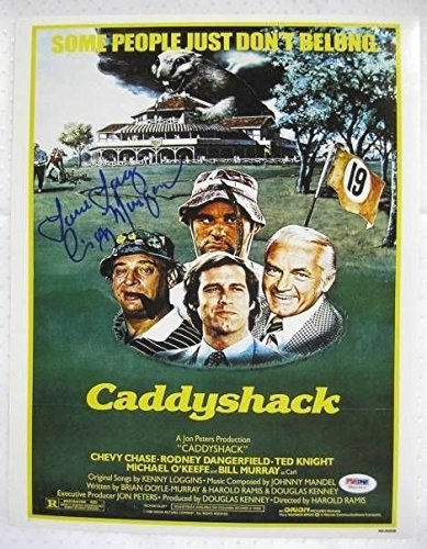 Cindy Morgan Signed Caddyshack 11x14 Inscribed Lacy Underall Photo Autograph PSA/DNA w/ COA w/ OC Dugout Hologram D -