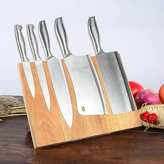 Compra DUDDP Cocina Porta Cuchillos Cocina Bloque de ...