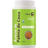 Euphoria Superfoods, Azúcar de Palma de Coco Orgánica, 300 g