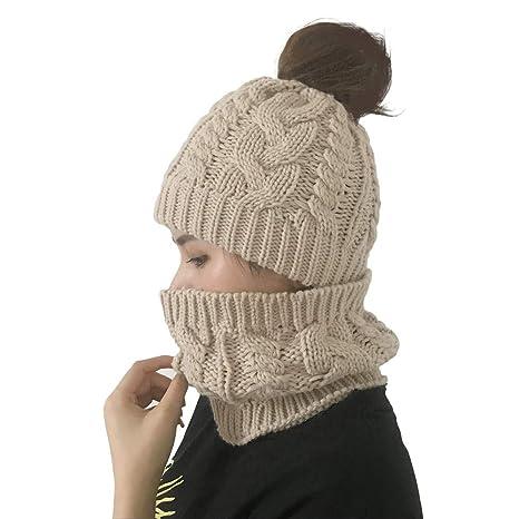 762c94645 Unisex Trendy Hat, Wool Knitted Beanie, Women Autumn Winter Outdoor ...
