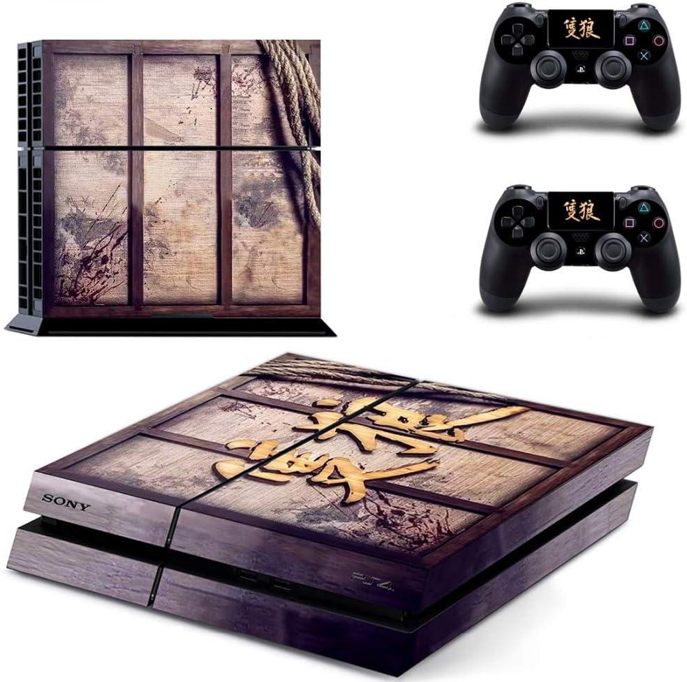 Amazon.com: Sekiro Shadows Die Twice PS4 Wrap Skin Cover ...