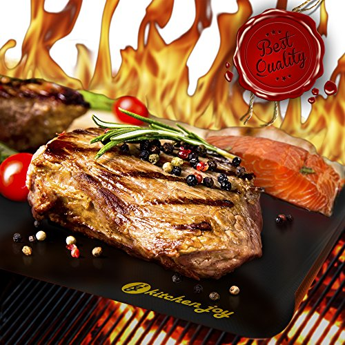 Kitchen Joy BBQ Grill Mat Set of 3 With E-Book