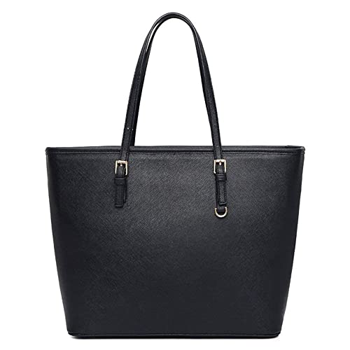 VECHOO Womens Handbag Tote Bag Shopping - Classic Black : Amazon.in: Shoes  & Handbags