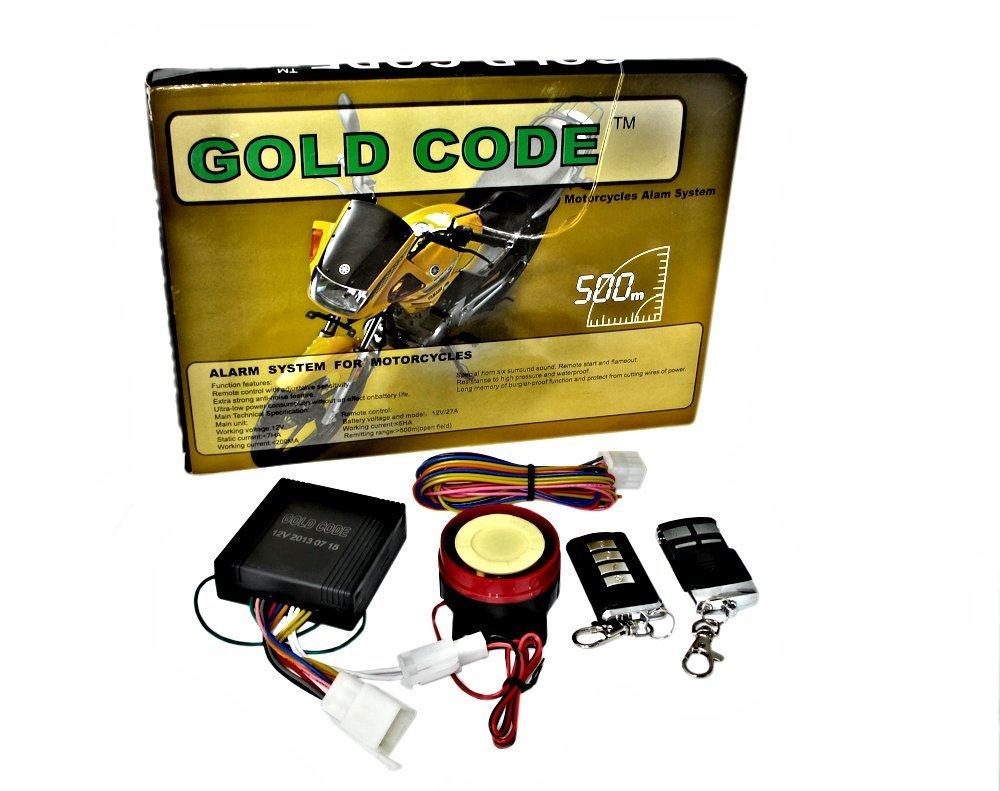 Alarma antirrobo profesional y universal para moto doble alarma con sirena de seguridad