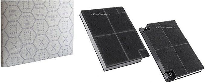 2 Filtros Campana extractora Carbón + Gamuza 50 x 60 Franke Faber Electrolux Smeg Brandt F 43: Amazon.es: Grandes electrodomésticos