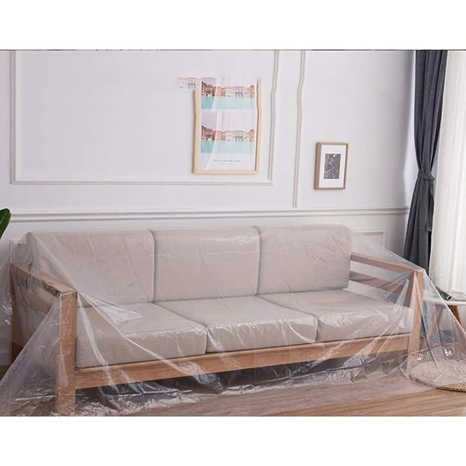 Amazon.com: HTY Fcz - Funda para sofá o cama, de plástico ...