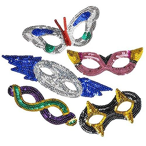 Sequin Mardi Gras Masks - French Quarter New Shopping Orleans
