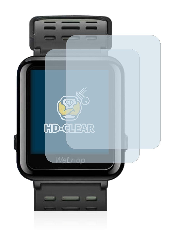 BROTECT para Xiaomi WeLoop Hey 3S Protector de Pantalla Película Protectora [2 Unidades]: Amazon.es: Electrónica