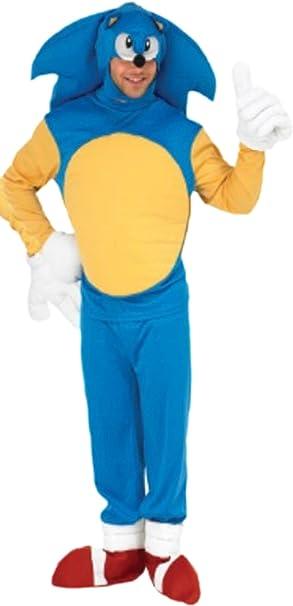 erdbeerloft – Disfraz hombre sonic The Hedgehog con Top ...