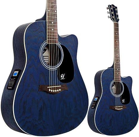 Lindo Willow - Guitarra electroacústica (con preamplificador F-4T ...