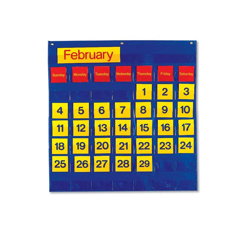 ETA hand2mind Monthly Calendar Pocket Chart