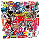Street Fashion Sticker Decals(101pcs), BENYU Laptop Vinyl Stickers for Waterbottle,Hydro Flask,Snowboard,Luggage,Motorcycle,iPhone,MacBook,Wall,DIY Party Supplie Patches Decal: more info