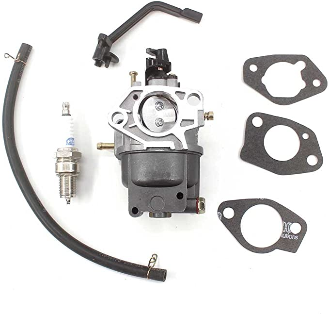 Panari 0J58620157 Carburetor Fuel Filter Spark Plug for Generac GP5500  GP6500 GP6500E GP7500E Portable GeneratorNIPHT
