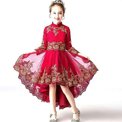 LS - Disfraz de Piano para niñas de Invierno, Vestido de Princesa ...