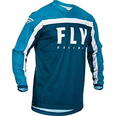 Fly Racing 2020 F-16 Jersey (XXXXX-Large) (Navy/Blue/White): Automotive