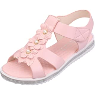 a779792d4f3d10 Halijack Women s Summer Sandals Boho Folk Rhinestone Flower Clip Toe ...