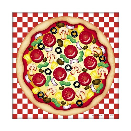 Make Pizza - MakeAPizza Sticker Scenes (makes 12) by Fun Express