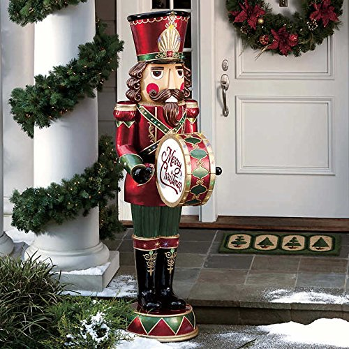 6' Musical Nutcracker Plays 8 Different Holiday Songs 34 LED lights by Nutcracker (Image #1)