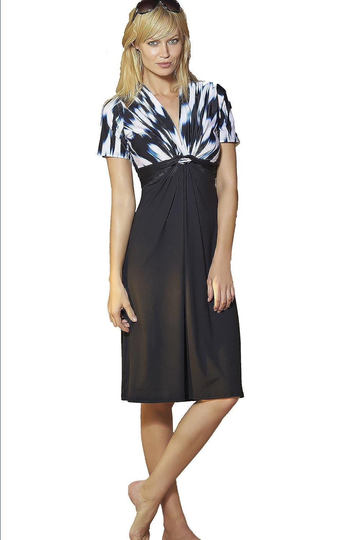Sunflair City & Beach Kleid Strandkleid V-Neck