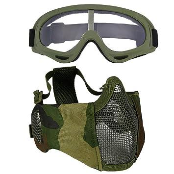 WLXW Máscaras Tácticas Y Trajes de Gafas, Accesorios de ...
