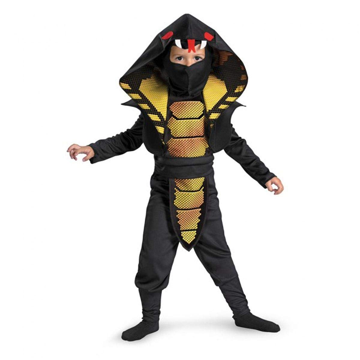 Cobra Ninja Boys Costume, 4-6