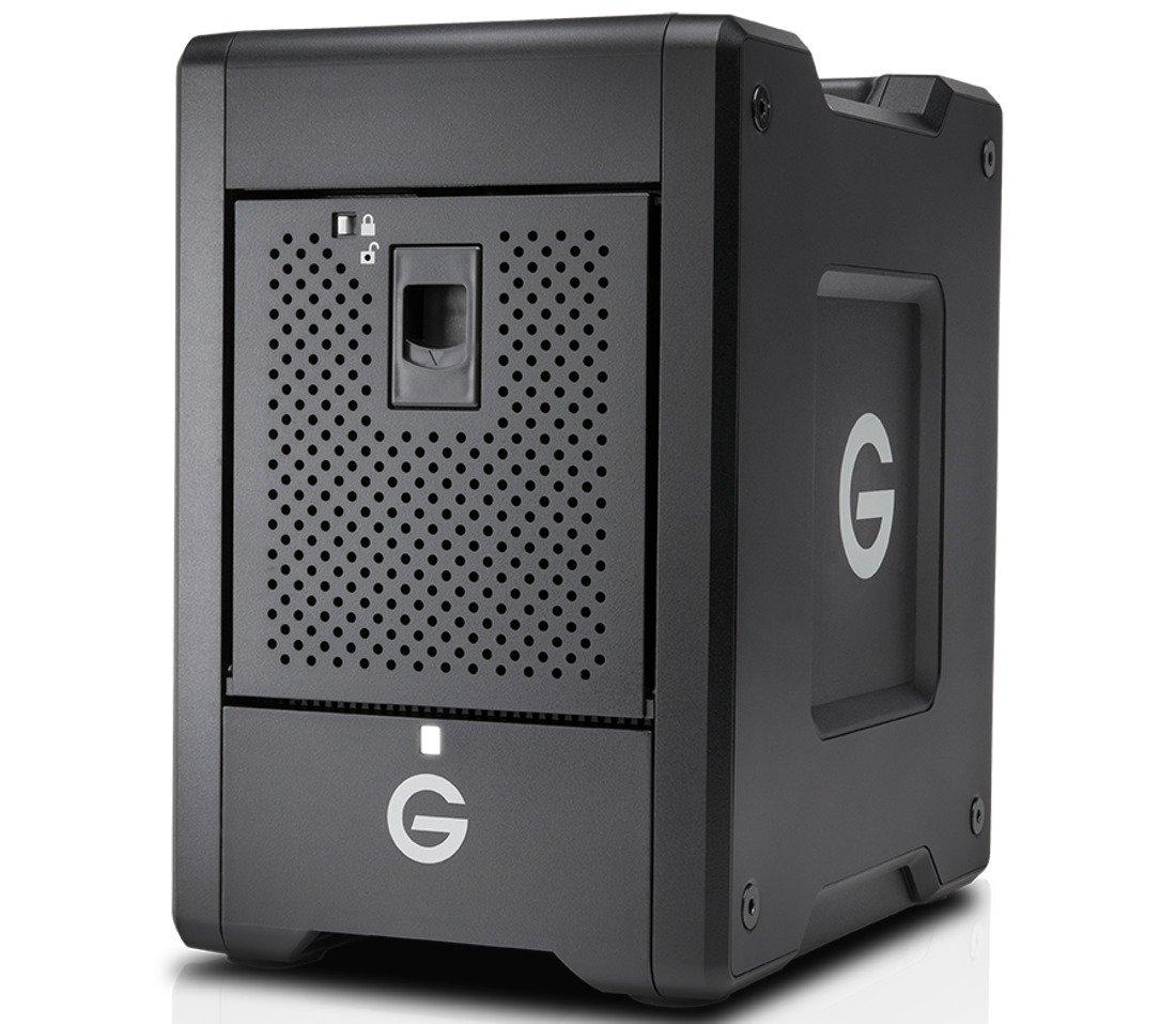 G-Technology 0G10067 16TB G-SPEED Shuttle with Thunderbolt 3 Transportable 4-Bay RAID Storage