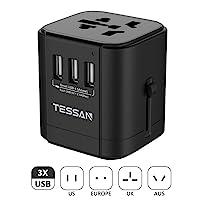Deals on Tessan International Travel Adapter Plug
