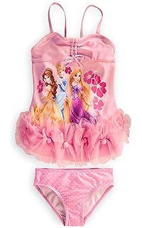 845e55083a Disney Store Disney Princess Swimsuit Size Medium 7 8  Deluxe 2-Piece  Swimwear