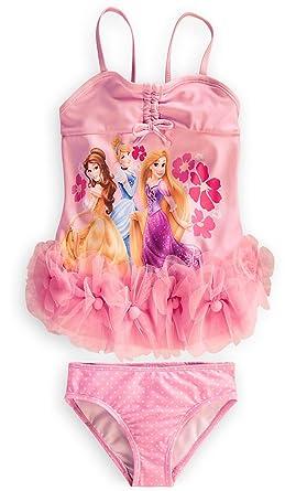 d7fbc0f5f4 Image Unavailable. Image not available for. Color: Disney Store Disney  Princess Swimsuit Size Medium 7/8: ...