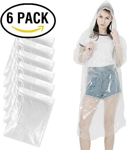 Adulte Hommes Femmes Imperméable Imperméable Plastique Jetable Poncho Pluie