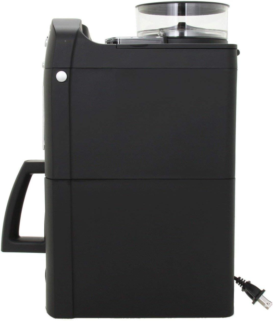 Amazon.com: Cafetera digital para 10 tazas con molino ...