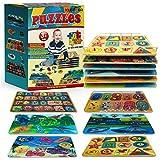 Kleeger KLG-200 Premium Baby Peg Puzzle 6-In-1 Set