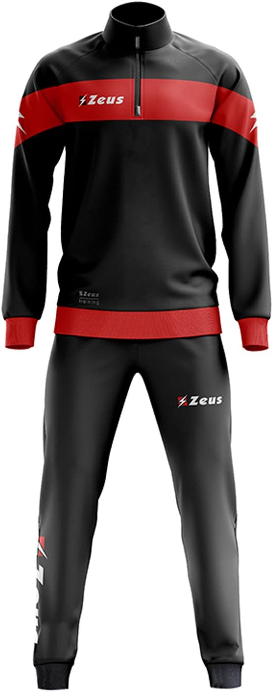 Zeus Tuta Marte Ginnastica Allenamento Training Corsa Relax Jogging Sport