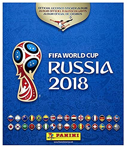 9798be33f Amazon.com   Panini 2018 FIFA WORLD CUP RUSSIA HARD COVER ALBUM   Sports    Outdoors