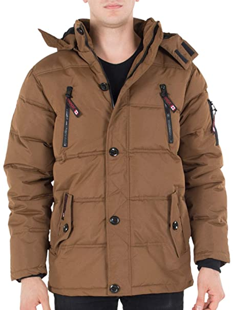 Amazon.com: CANADA WEATHER GEAR - Chaqueta para hombre con ...