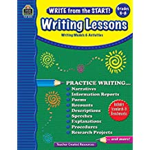 Write from the Start! Writing Lessons Grd 6-8