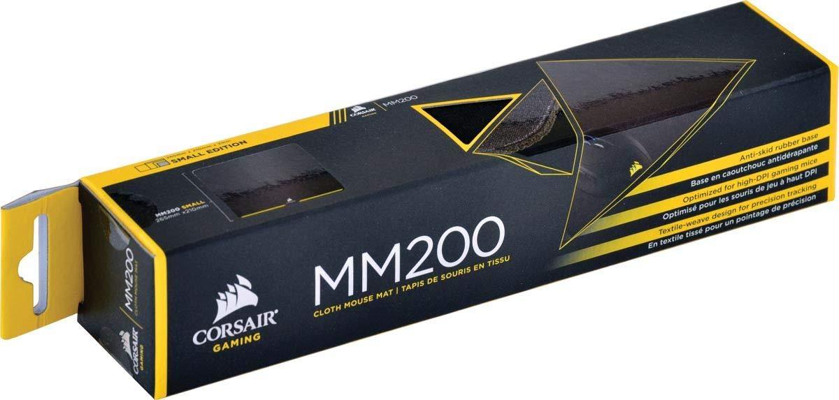Corsair MM200 Tapis de Souris Gaming Extended, Tissu Noir