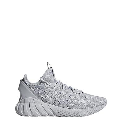 Adidas Men Originals CG5512 Grey Tubular Doom Sock Primeknit Shoes