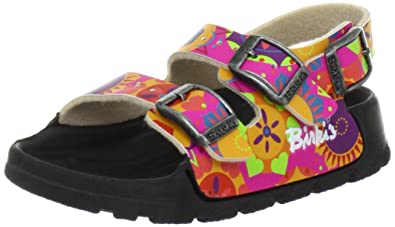Details zu Birkenstock Birkis Aruba Gr 27 Schmal Rosa Sandale Mädchen Badesandale